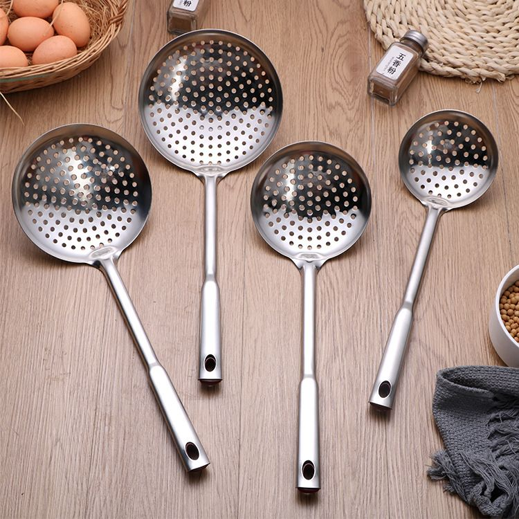 厂家直销家用烹饪勺铲 不锈钢厨具套装 大漏勺汤勺锅铲厨具礼品