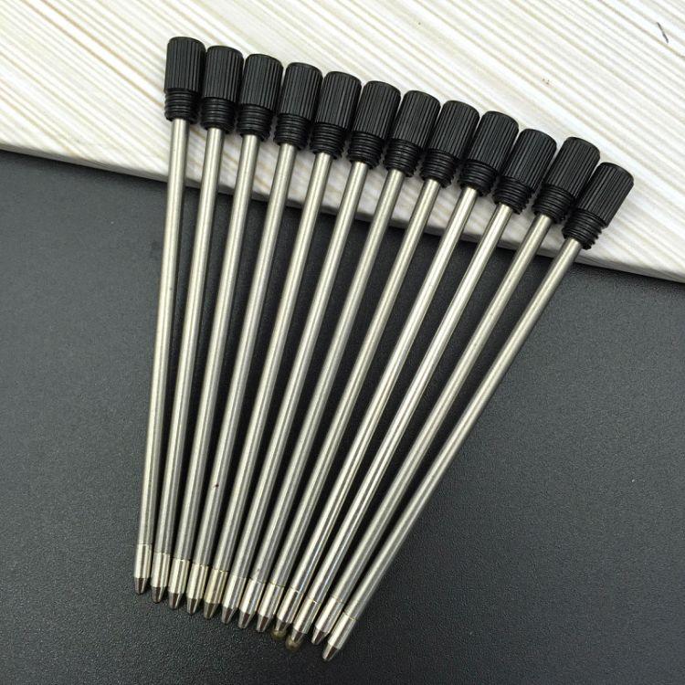 水晶笔专用金属笔芯 水钻笔替芯黑色蓝色批发圆珠笔笔芯全长7mm