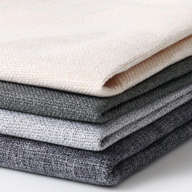 【百宏布业】高档面料双色粗麻布亚麻棉麻仿麻沙发布料加厚装饰布