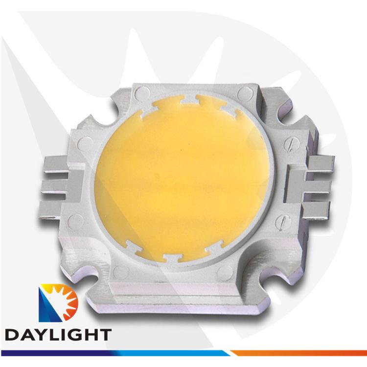 COB支架轨道灯专用led大功率灯珠集成光源led模组30w暖白光方支架