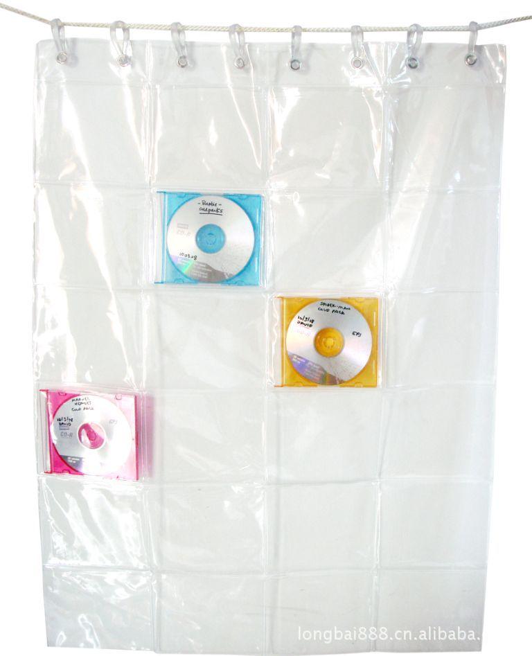 供应CD袋 PVC CD挂袋 CD墙上挂袋