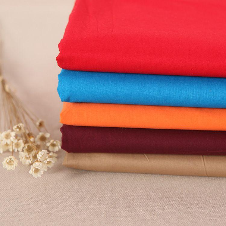 厂家直销斜纹扎染全棉仿天丝面料 衬衫连衣裙女装用布