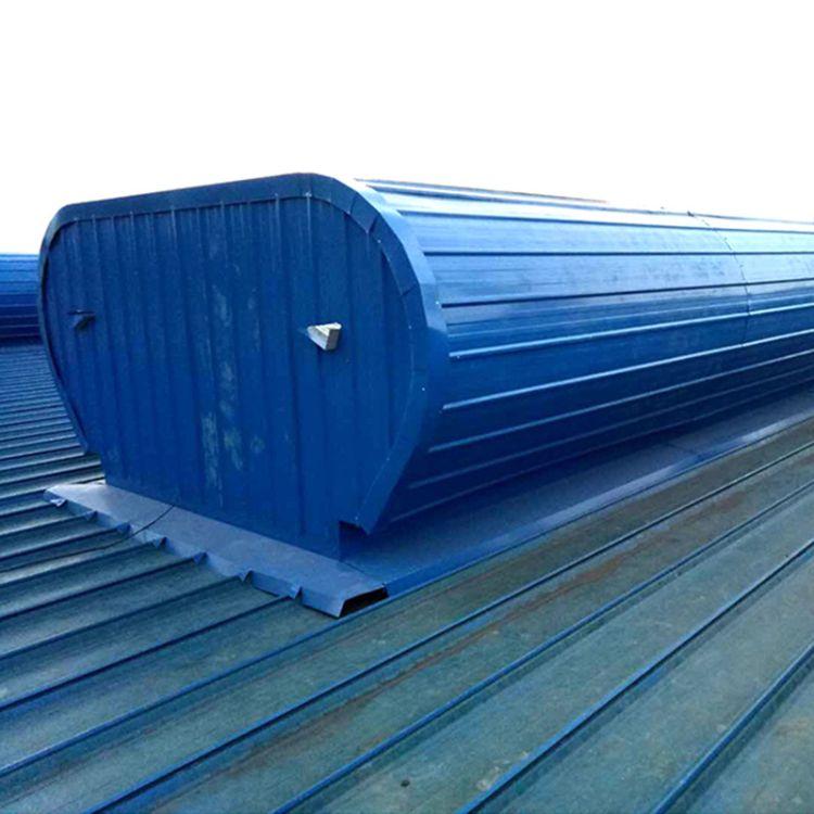 大量现货厂房敞开式通风天窗 弧线型屋顶自然通风气楼 采光天窗