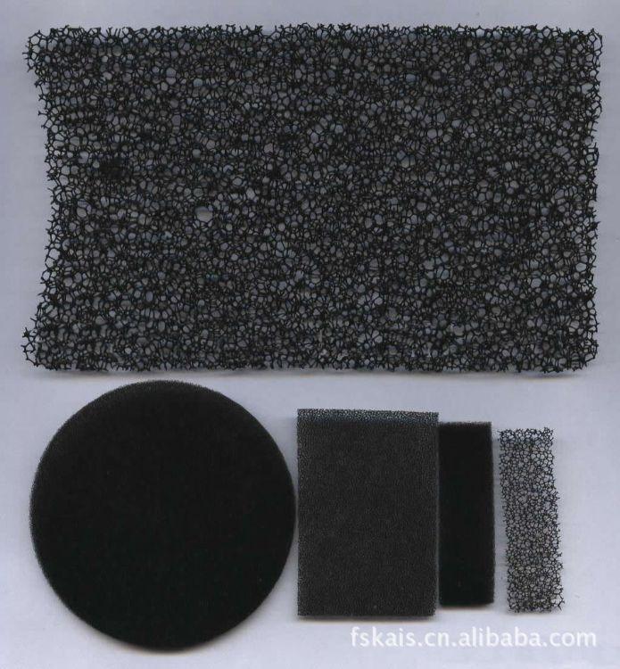 供应大孔小孔过滤棉 PPI过滤棉 粗孔过滤棉 高密度过滤棉