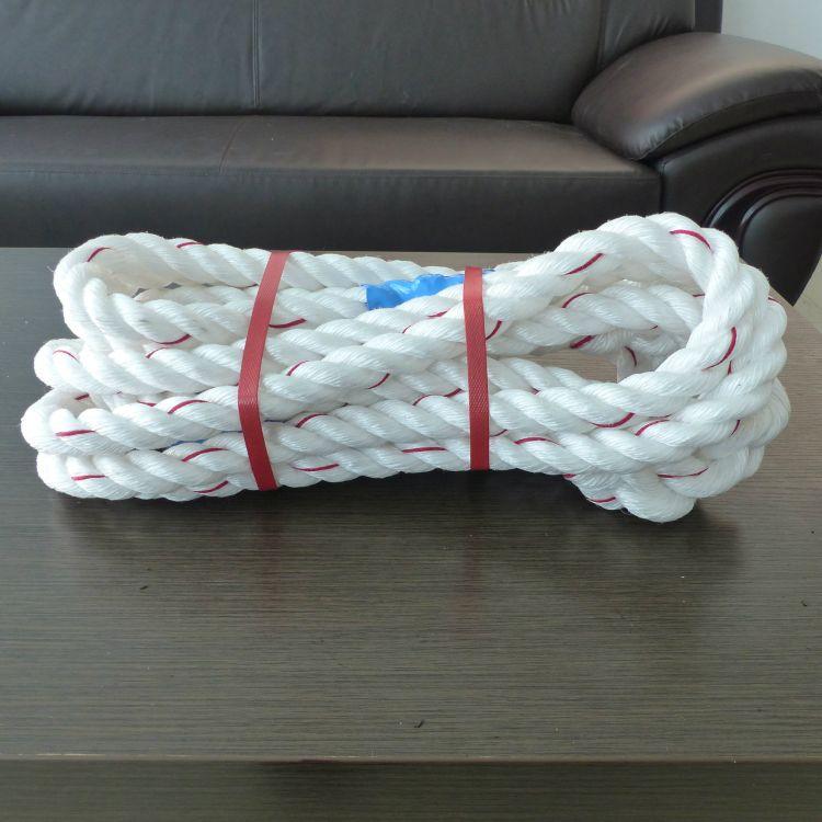 聚丙烯扁丝绳  扁丝绳  PP扁丝绳  亚麻绳  三股绳