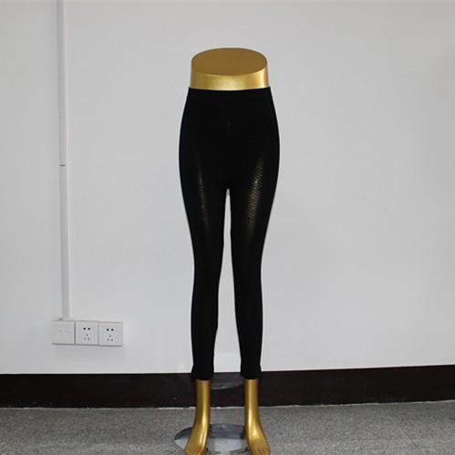 无缝女式提臀网格风格超薄打底裤