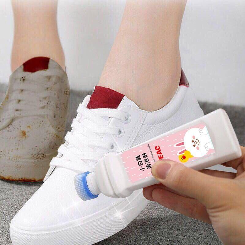 抖音同款小白鞋喷雾增白神器清洁剂  清洁亮白去黄去污一擦白