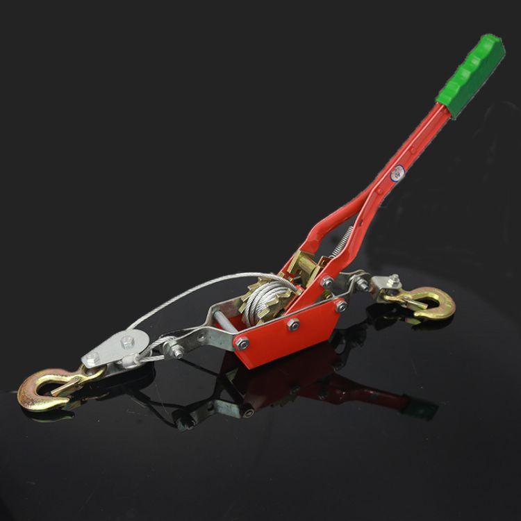 钢丝绳拉紧器收紧器多功能紧线器双钩大棚拉线器杠杆拉紧器