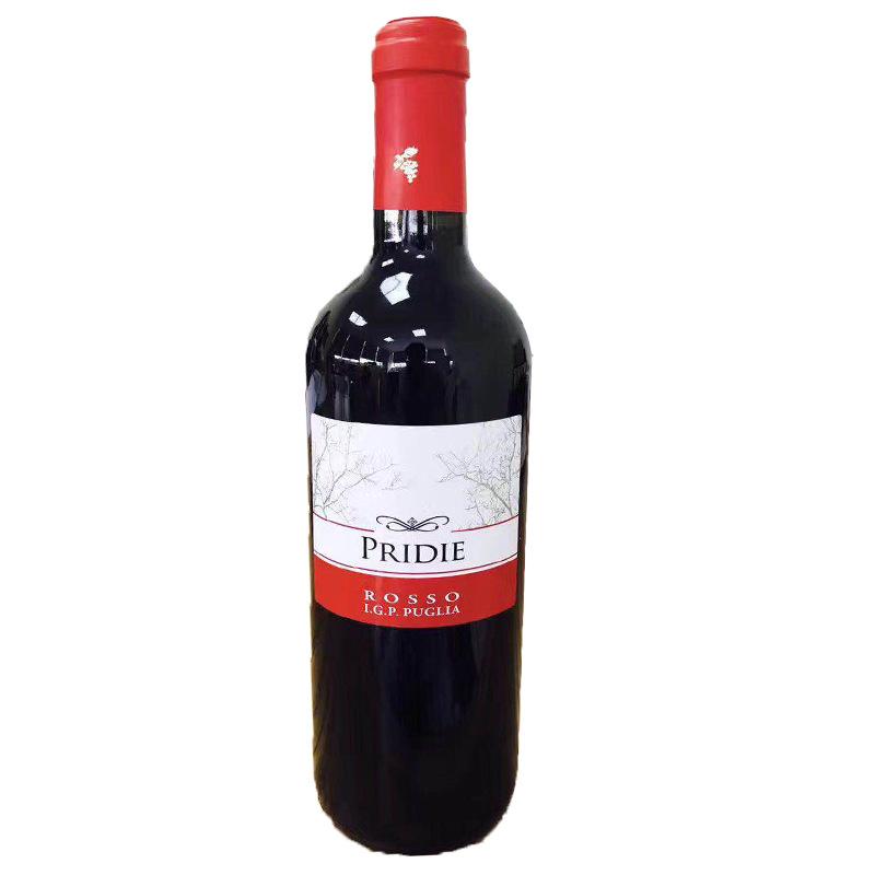 意大利原装瓶进口帕莱帝干红葡萄酒750ml装箱6瓶限时促销