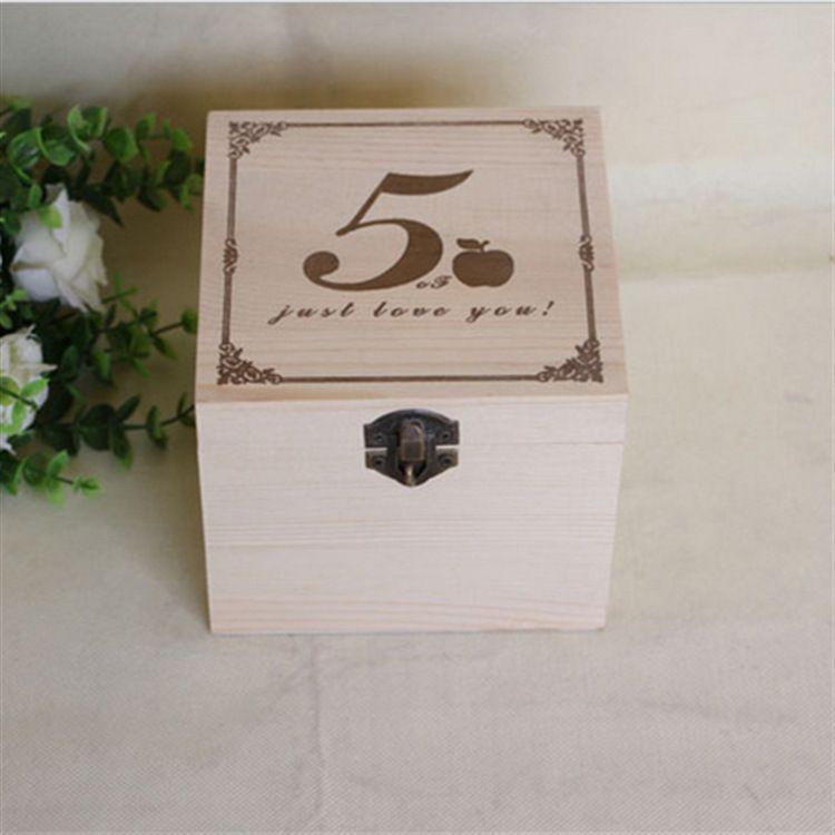 水果包装盒木制包装盒食品盒苹果盒松木苹果木盒可来图加工定做