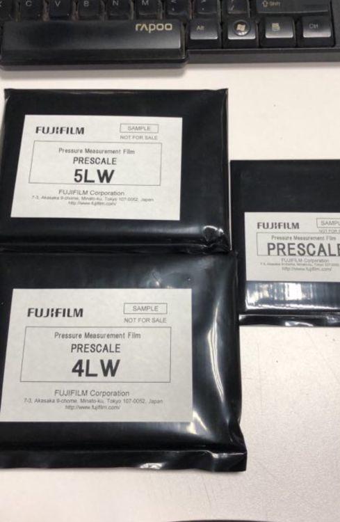 原装正品日本FUJI富士感压纸压敏纸 型号齐全(免费发样品)