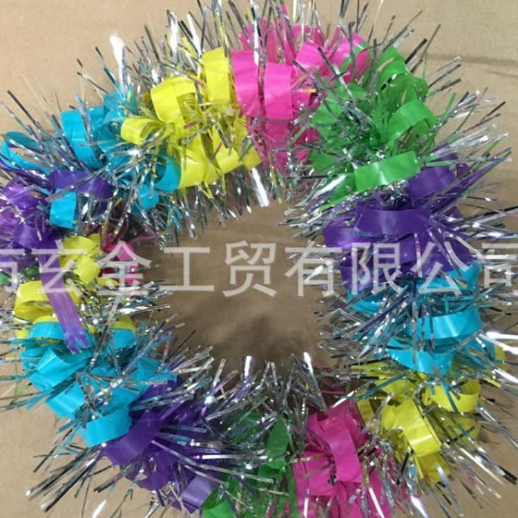 花环运动会节日庆贺幼儿园六一演出道具头环头花装饰橡皮筋
