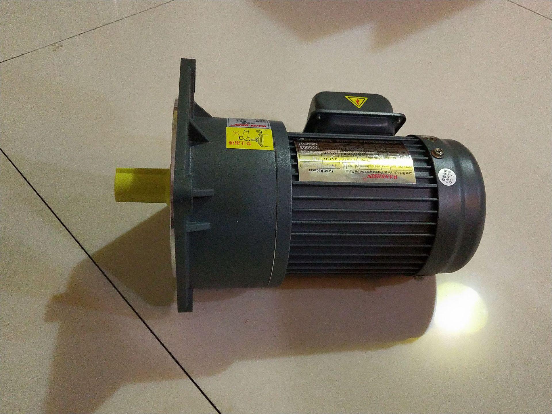 万鑫齿轮减速机 立式400W 纸箱机械减速机供应济南地区