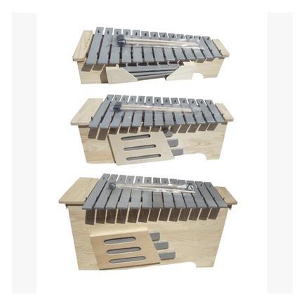 正品高档专业教学13音变调铝板琴 高中低箱式钟琴 奥尔夫乐器