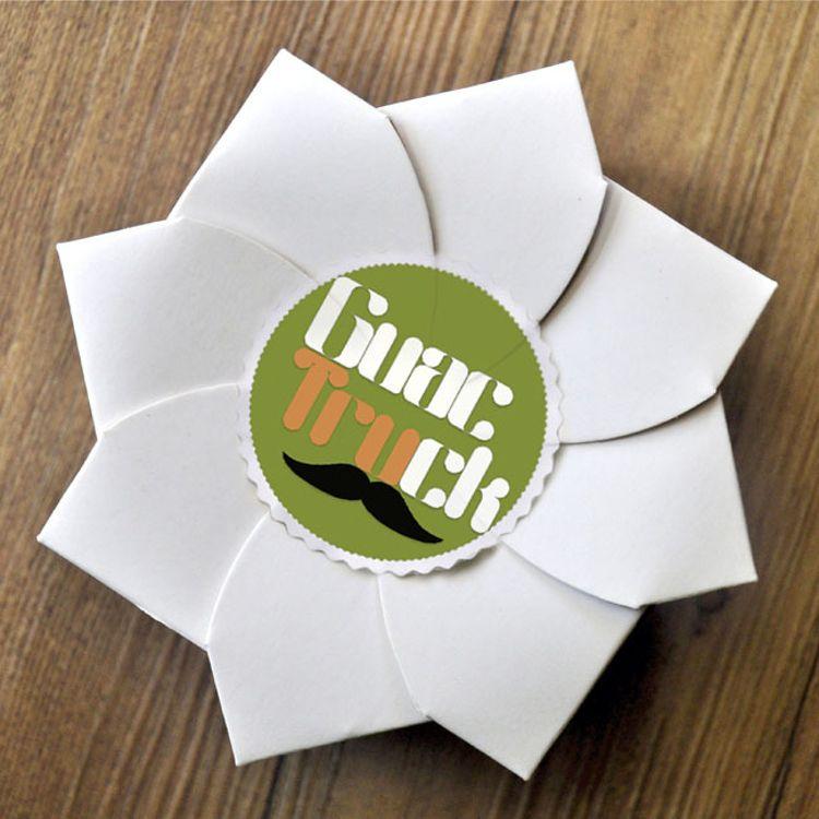 厂家定制花型白牛皮纸盒空白卡纸花茶茶叶包装盒折叠散装茶礼盒