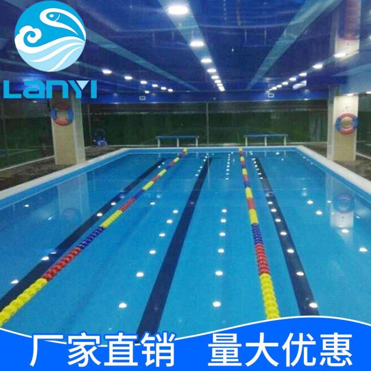 蓝易 酒店室内游泳池 大型成人移动游泳池 培训拼装组合泳池