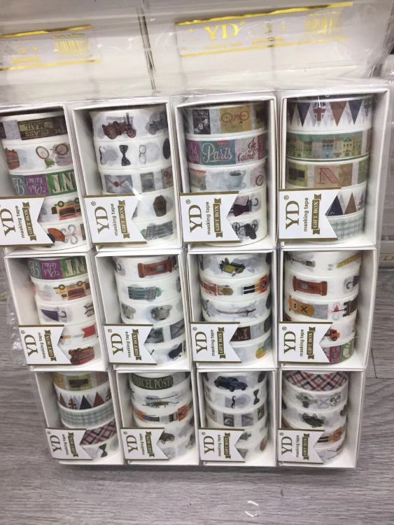 厂家直销日韩和纸胶带手帐胶