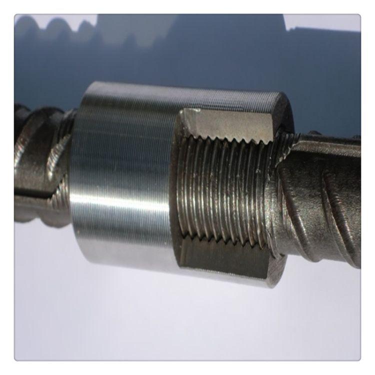 兰州厂家直销国标优质45号钢12-32型号钢筋连接套筒  销售  现货优惠