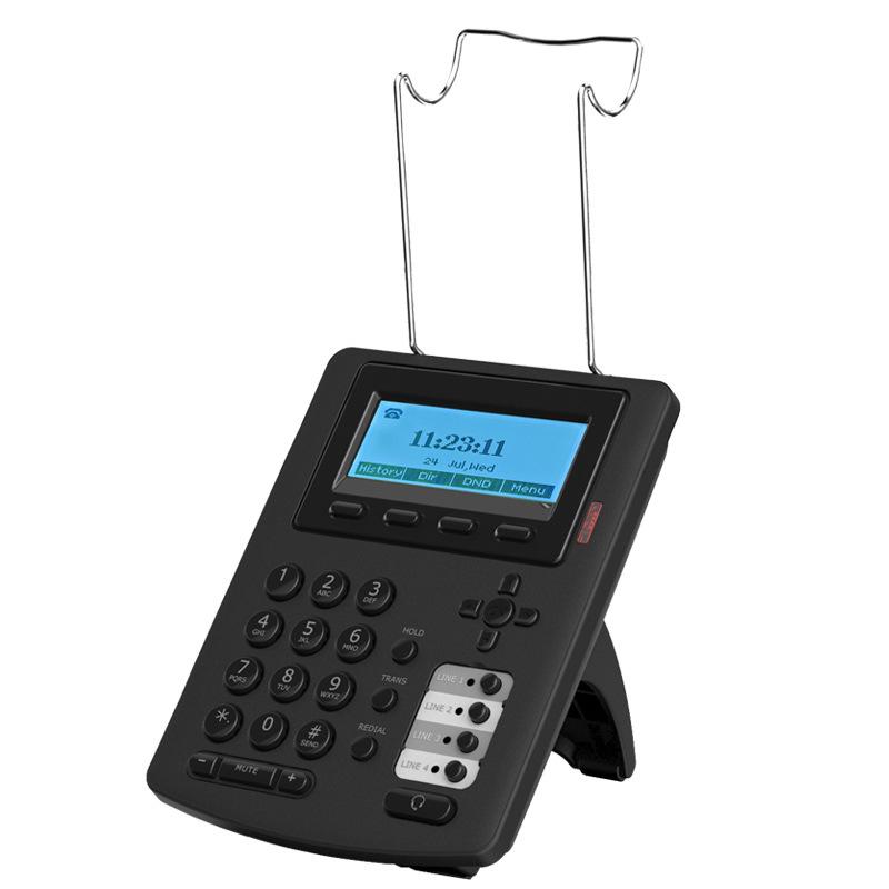 IP话务盒SIP网络电话机 呼叫中心办用通用网络话机 IP电话机 E300