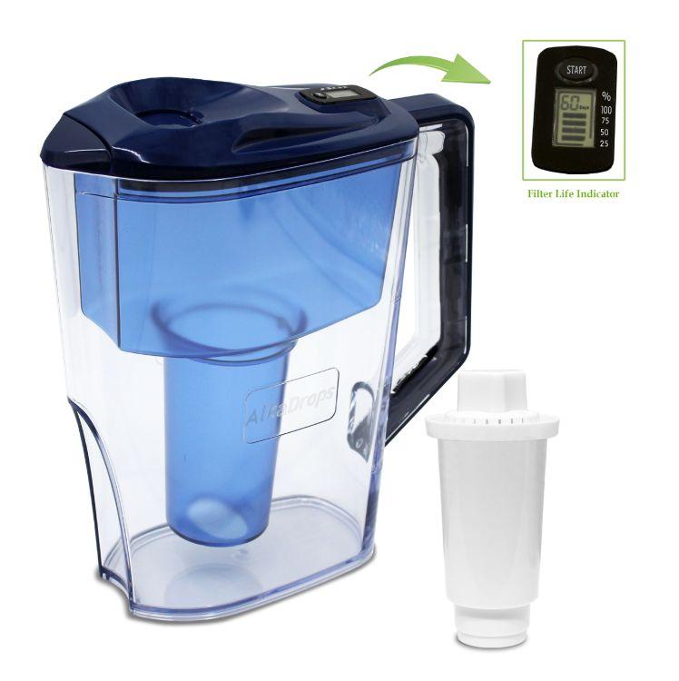 家用净水壶过滤水壶厂家 多种OEM款式 活性炭净化超滤滤芯 能量水壶