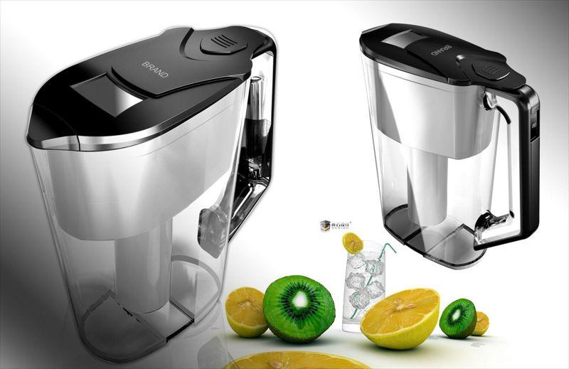 仪健2.5L家用净水壶 便携式过滤水壶 超滤 活性炭多种OEM款式 wp6
