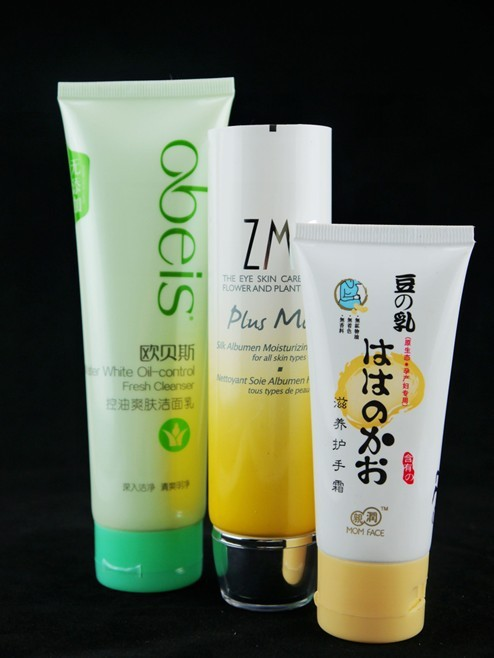 广州厂家直销洗面奶护手霜洁面乳五层复合软管/ 化妆品包装