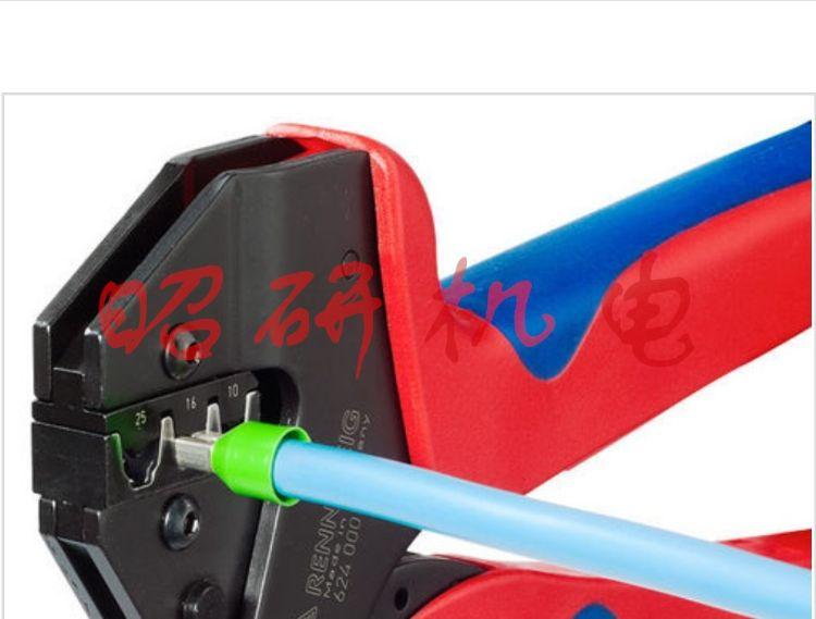 德国RENNSTEIG工具8710 0000 6手动压接工具钳子扳手PEW12