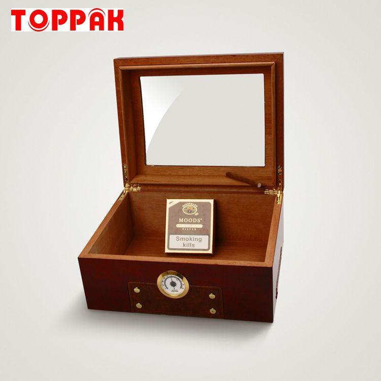 新品 高档雪茄盒香烟盒木质保湿盒保湿箱可定制 OEM厂家制造商