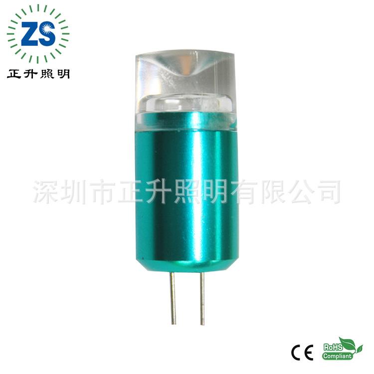 G4爆款 1.5W 80Ra 绿色型 水晶灯珠 米泡 可印logo参数