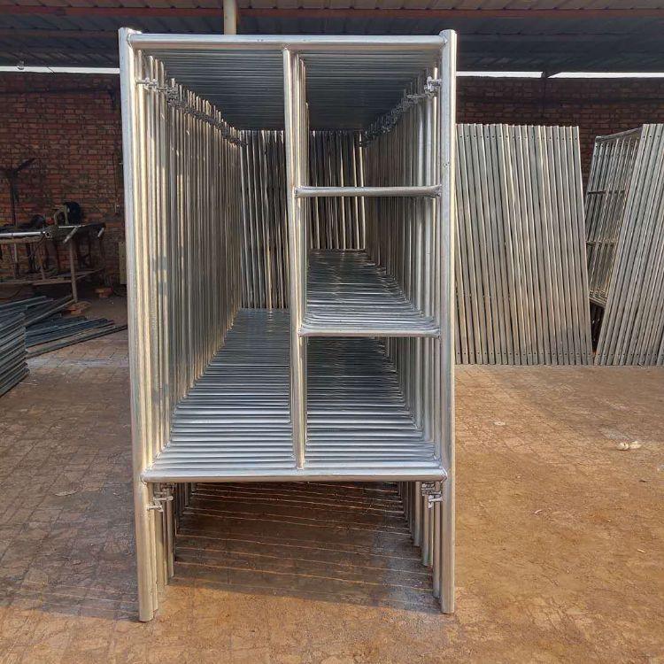 尧瑞厂家直销 梯形移动脚手架 门式小组合四杠加厚热镀锌架子