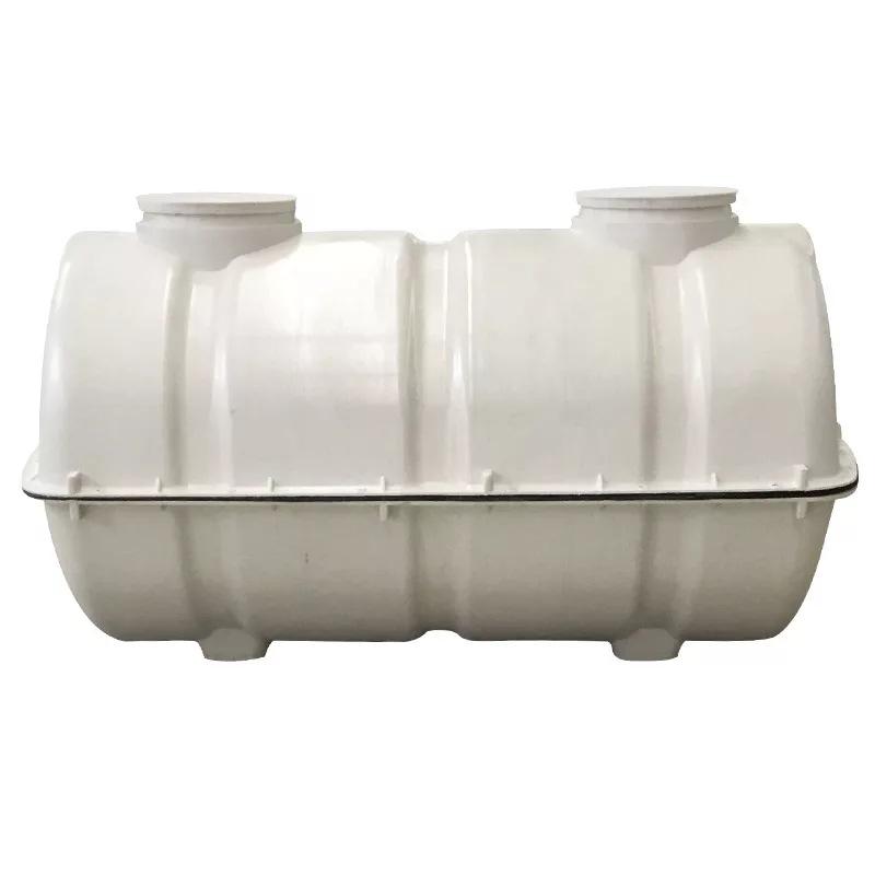 1.5方玻璃钢化粪池模压化粪池蓄水池污水处理农村旱改厕专用