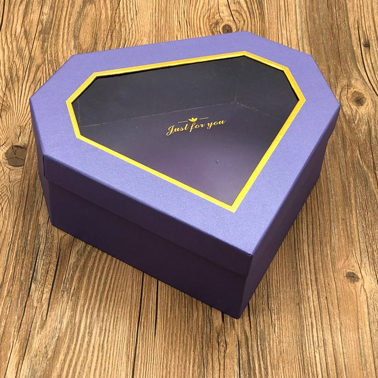 包装盒 纸盒定制厂家直销18格巧克力盒玫瑰香皂花礼盒