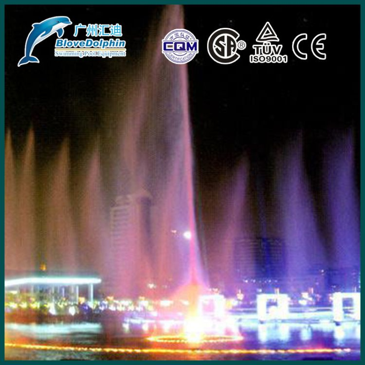 大型音乐喷泉设备系列掺气喷头 厂家批发设计喷泉水景掺气喷头 水景工程设计