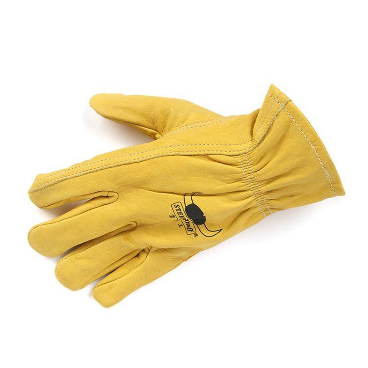 威特仕10-2700牛皮电焊专用手套 防火阻燃焊工手套