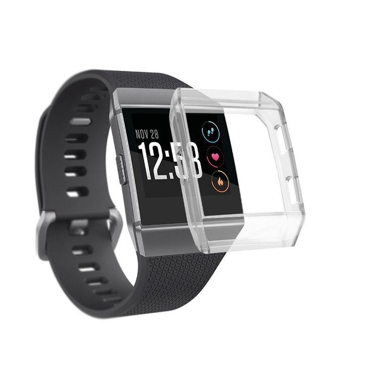 fitbit ionic智能手表保护套 ionic硅胶TPU保护壳套件表带腕带