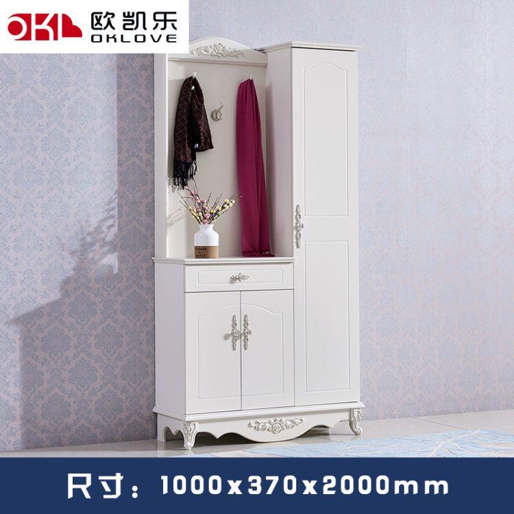 厂家直批新款现代白亮烤漆功能客厅家具进门玄关 鞋柜