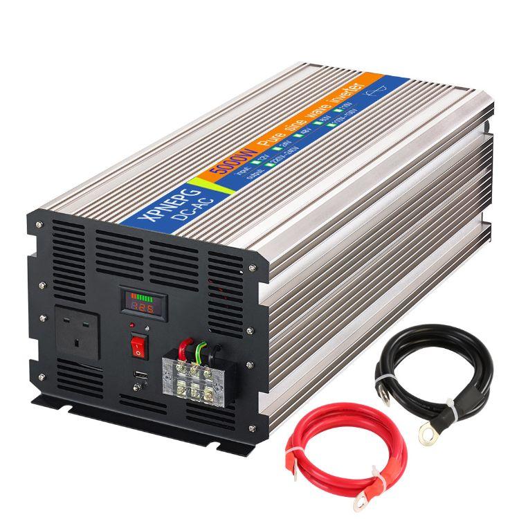 家用5000W12V转220V纯正弦波逆变器养殖场用太阳能离网逆变器