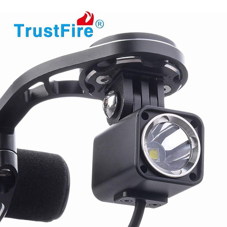 TruseFire铝合金自行车灯LED夜骑装备骑行灯户外骑行装备爆款防水