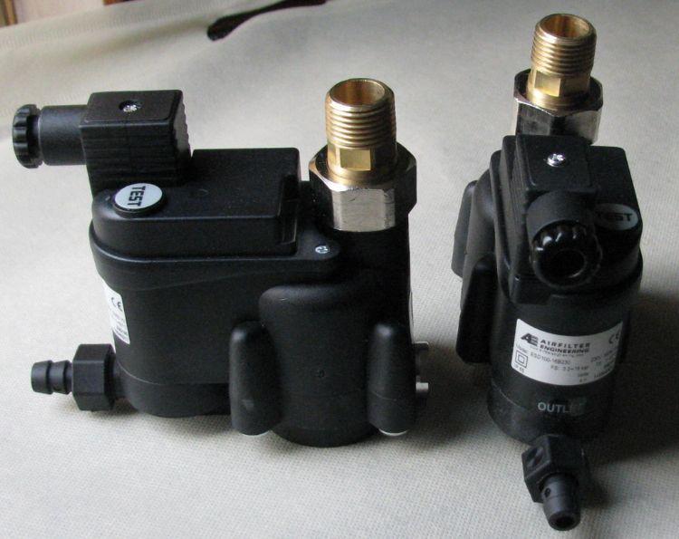 肇庆建信压缩空气ESD-100无气损电子液位感应自动排水阀