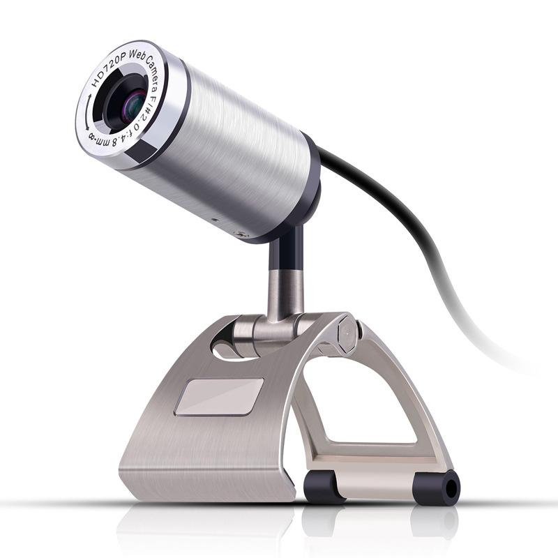 厂家直销usb电脑摄像头 HD720P高清摄像头 电脑视频通话带麦克风
