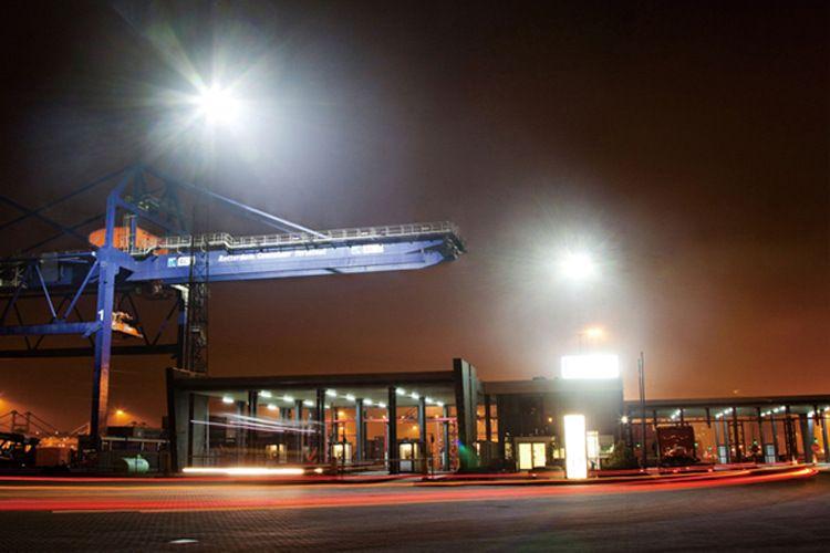 制造工厂户外楼顶LED探照灯