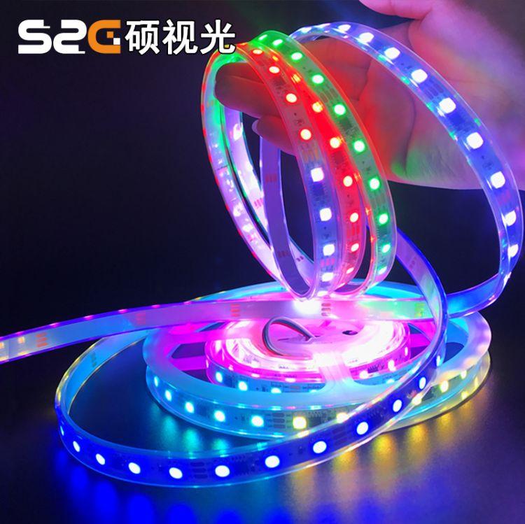 高亮led幻彩灯带 ws2811 sm16703 dc12V乐吧车 娃娃机游戏设备灯