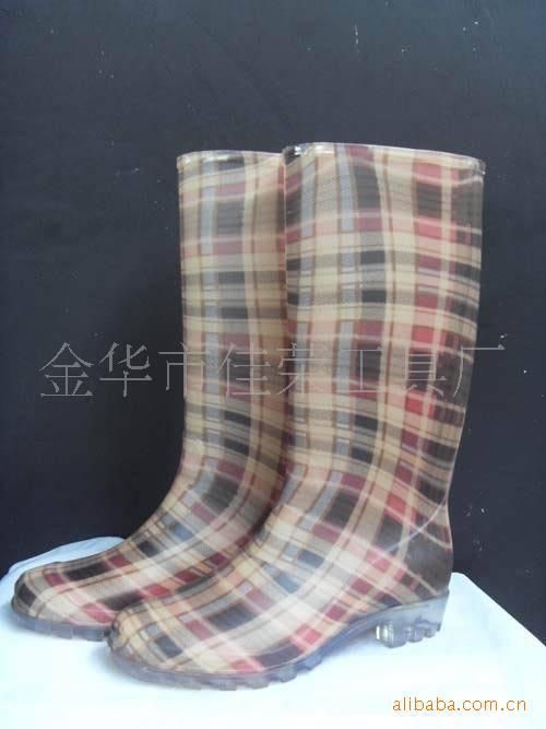 厂家提供佳荣女式防化鞋 时尚大方防水防滑耐酸碱女靴防化鞋