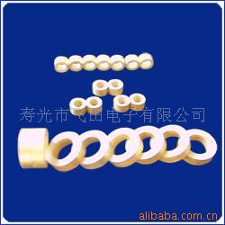 生产销售剪切模式压电陶瓷镀金环 高品质压电陶瓷镀金环 压电陶瓷