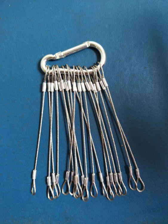 钢丝绳,双锁头钢丝绳,不锈钢钢丝绳