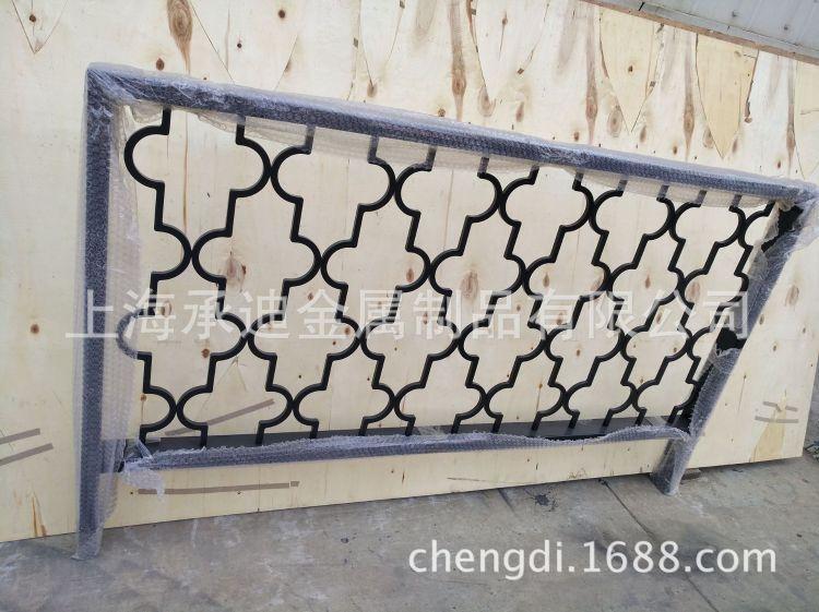 提供一字型扶手 肯德基店扶手 马路上钣金烤漆栏杆定制