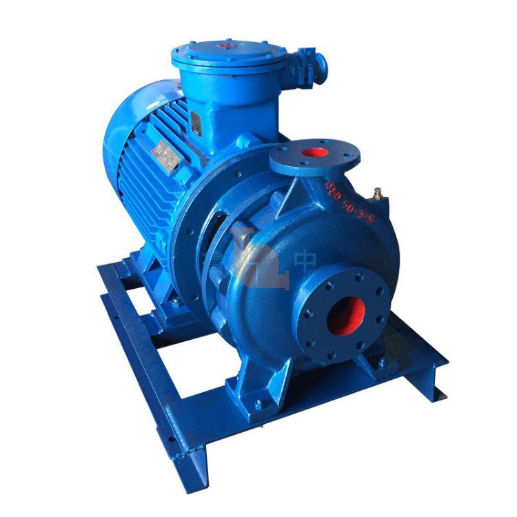 淄博鲁中工业泵厂 厂家直销  现货直供 直联单级单吸泵ISW100-200