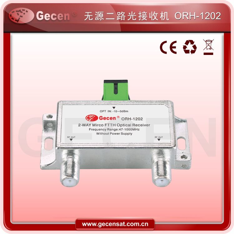 有线电视二路光接收机无源光纤接收机CATV光接收机有线电视接收机