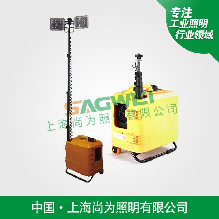 SW2960多功能升降工作灯LED手提消防应急照明SFW6121便携防汛灯