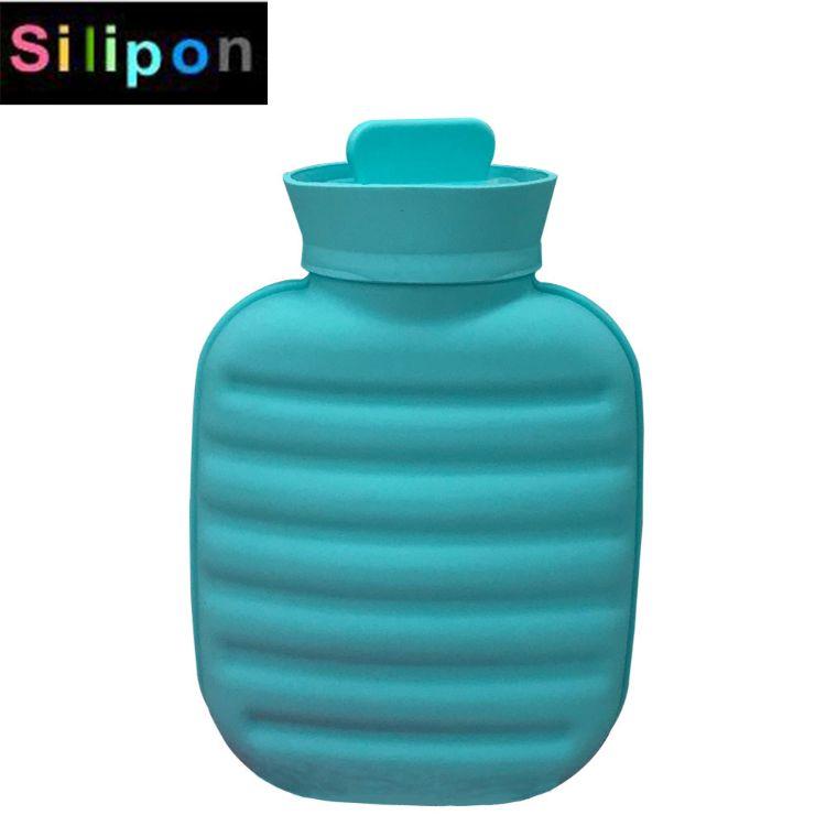 暖手宝 暖手暖腰暖宫注水暖水 可微波炉加热 暖水袋 硅胶热水袋